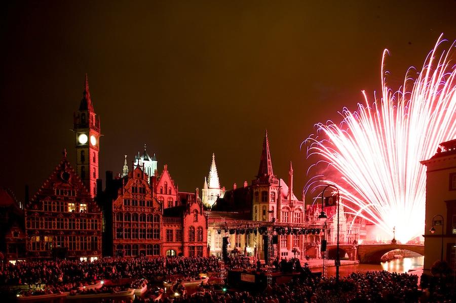музыкальный фестиваль в Генте