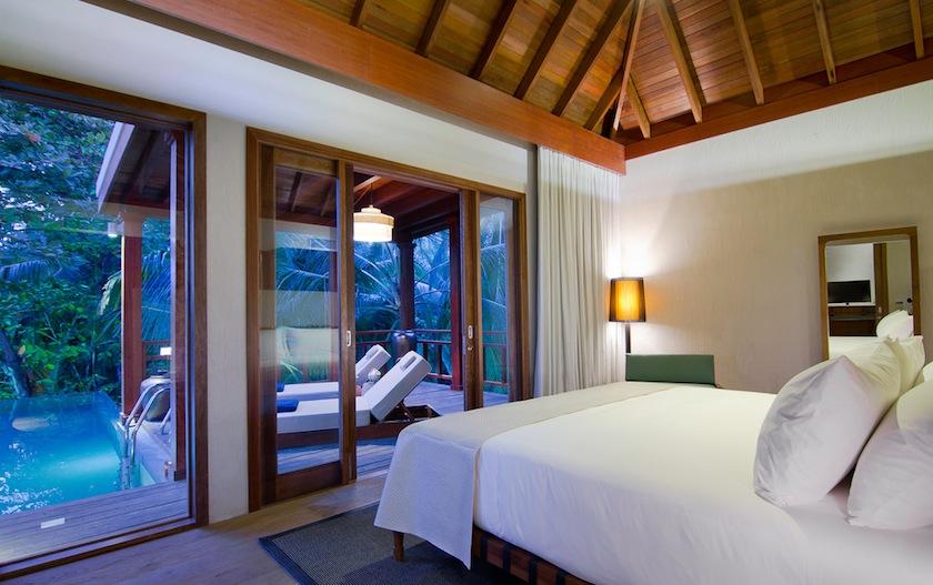 TreeHouseBed05-XL, спальня, Мальдивы