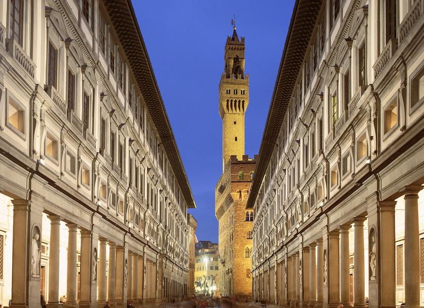 Uffizi-Gallery-(Florence) Галерея Уффици