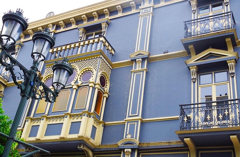 Коста-Рика, Сан-Хосе, здание с элементами в арабском стиле