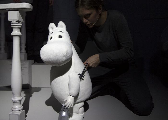 выставка муми-троллей в Стокгольме