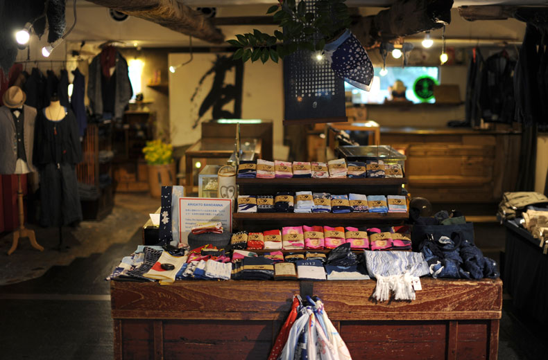 Один из магазинов в квартале Jingumae, Токио