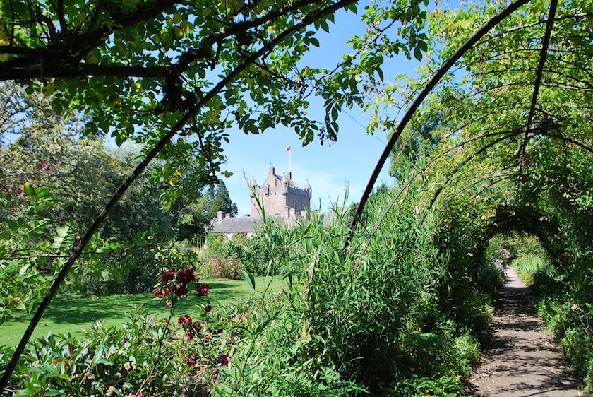 сад Цветов, замок Каудор, Шотландия