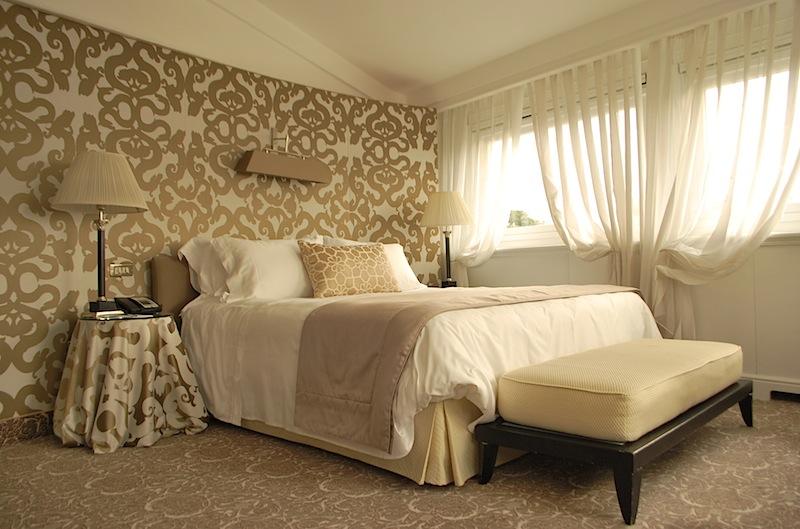 спальня в номере люкс отеля Eden