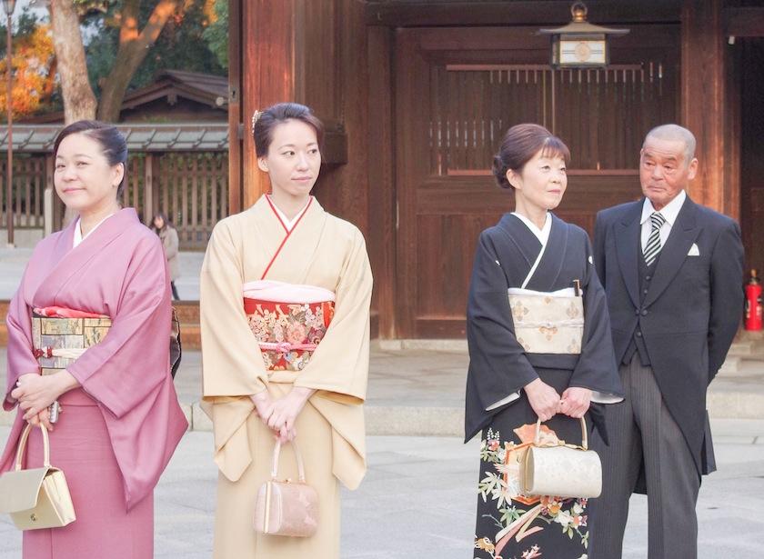 свадебная церемония, Япония