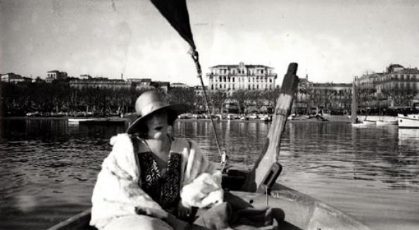 Биби в Каннах, 1923 год