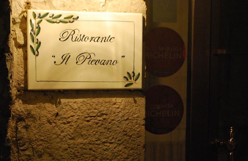 Castello di Spaltenna, ресторан Il Pievano