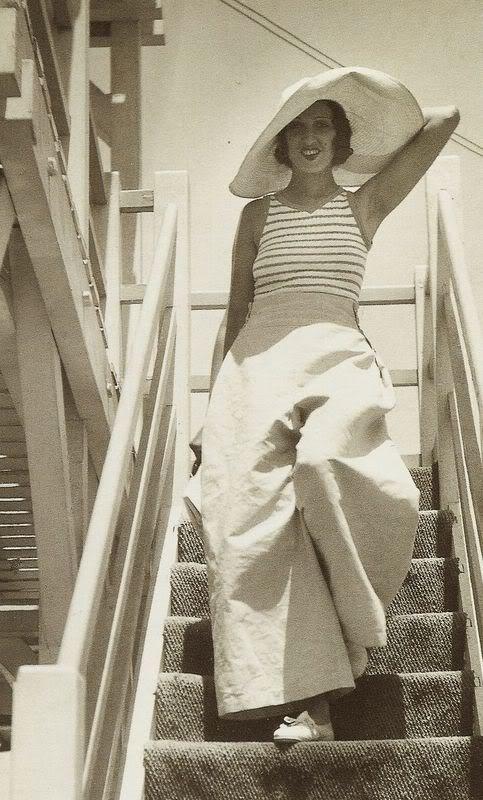 рене перль: 1930 - Palm Beach, Cannes