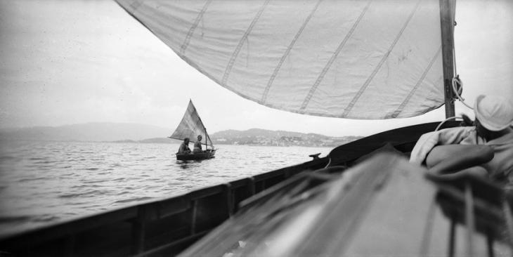 Пьер, Вера и Арлет. В сторону островов, Канны, май 1927.