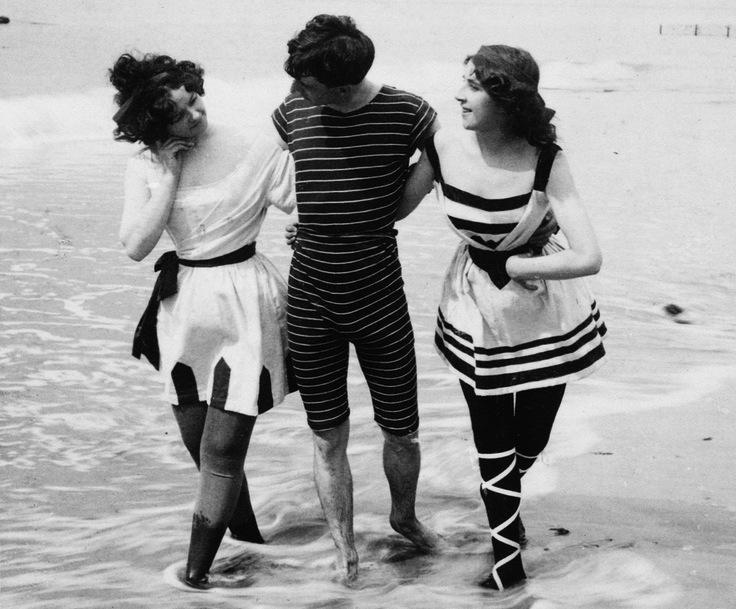 купальные костюмы 1898 год