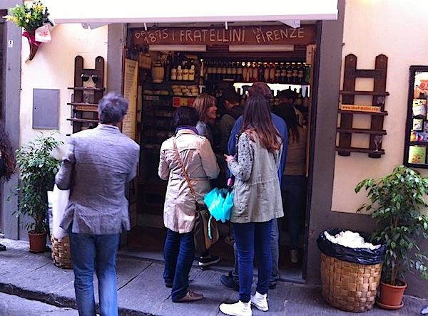 историческое кафе I Due Fratellini