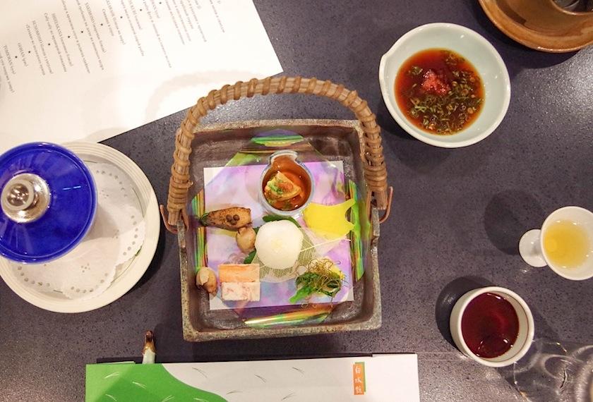 для кайсаки эстетическая сторона подачи важна также, как и вкус