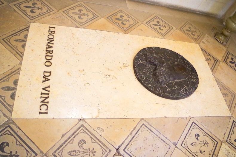 могила Леонардо да Винчи
