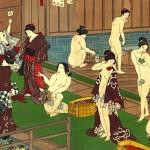 Японские горячие источники онсэн