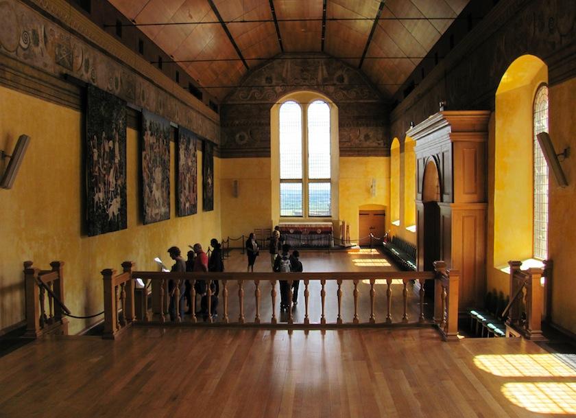коридор замка Каудор