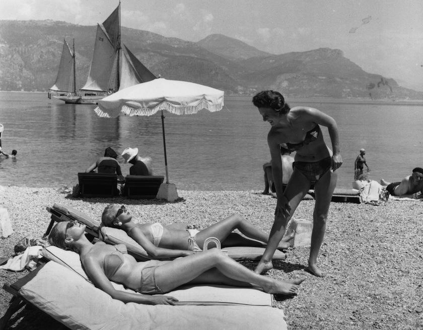 Лазурный берег, архивные фото