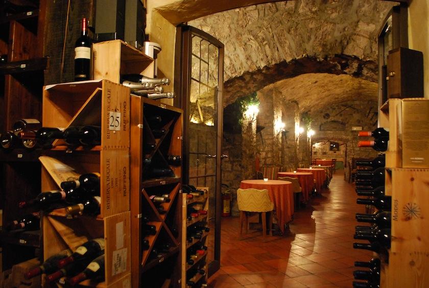 винный погреб Castello di Spaltenna
