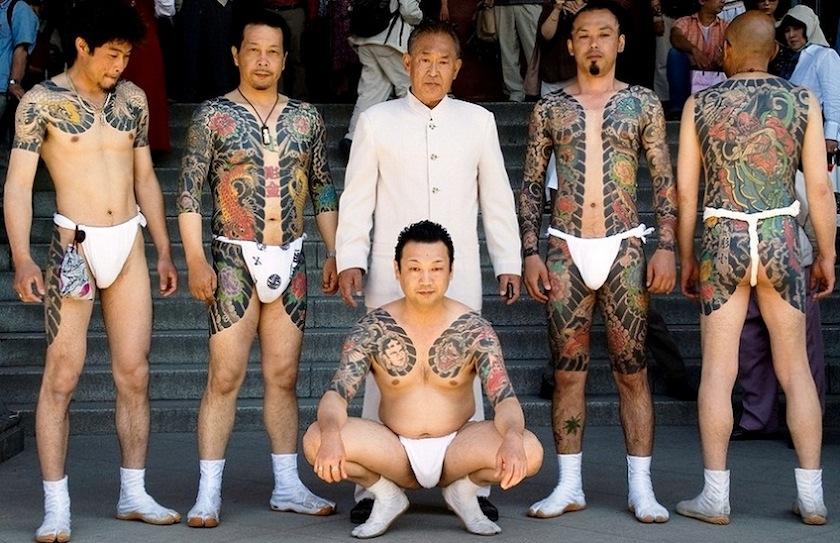 якудза в татуировках