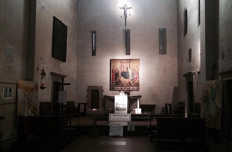 Firenze-Florence-Флоренция-церковь-Святой-Маргариты-дей-Черки-Chiesa di Santa Margherita dei Cerchi