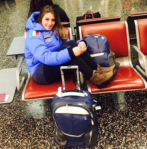 итальянская горнолыжница Nadia Fanchini