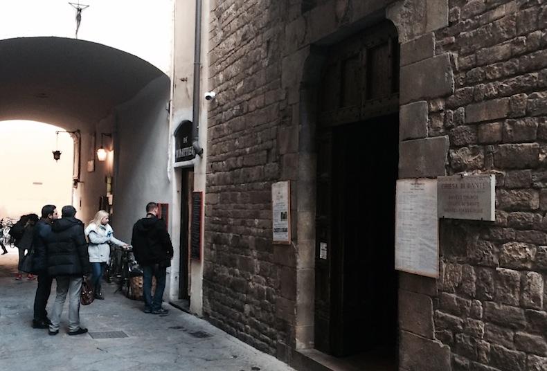 Святой Маргариты дей Черки (Chiesa di Santa Margherita dei Cerchi-Флоренция-Firenze-Florence-Italy-Dante