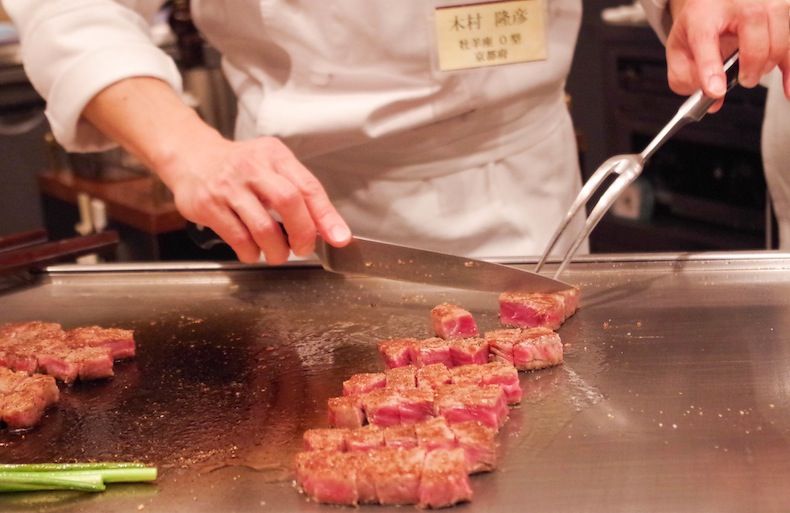 Приготовление мраморного мяса