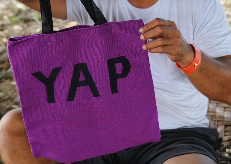 сумка с островов Яп