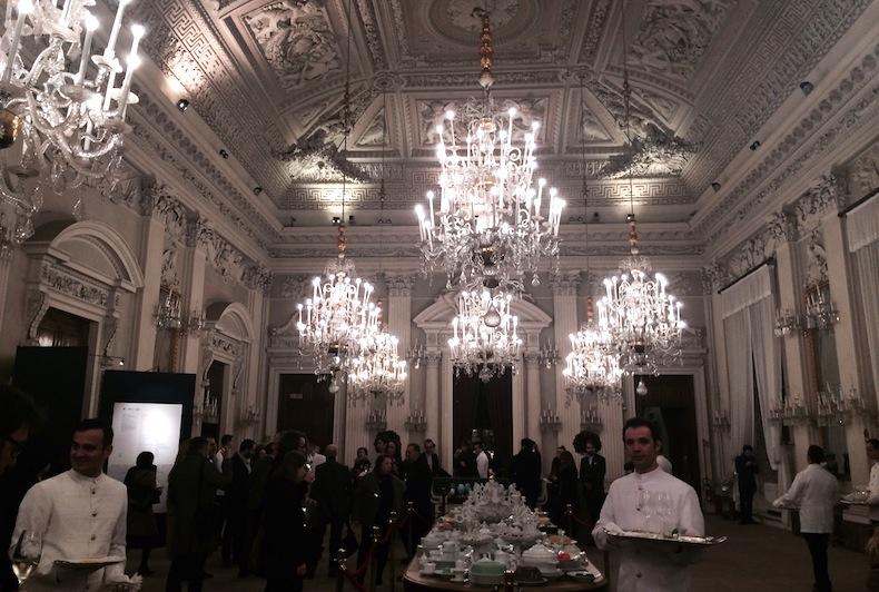 прием в палаццо Питти по случаю гастрономической выставки, palazzo Pitti, Florenze, Firenze