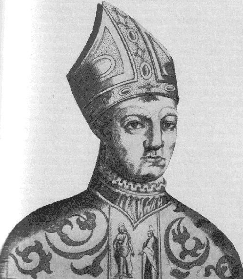 Иоанн XXIII в миру носил имя Бальтазара Косса Johannes_XXIII_Gegenpapst