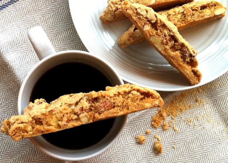 кофе с кантуччи - популярный флорентийский завтрак