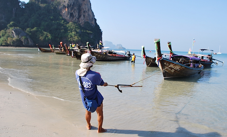 Пляж Пхра Нанг (Phra Nang Beach)