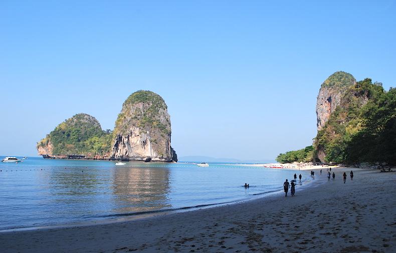 Пхра Нанг (Phra Nang Beach),