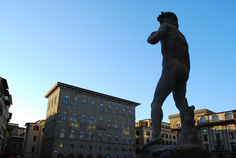 Давид Микеладжелло, площадь Синьории, Флоренция, Florence, firenze, Davide, David Michelangelo