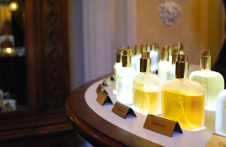 старинная аптека-парфюмерия Santa Maria Novella