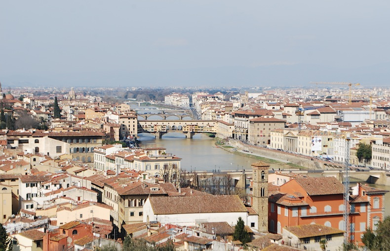 панорама Флоренции-florence-firemze