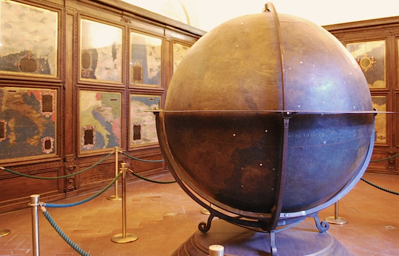 Зал картографии в Палаццо Веккьо, Флоренция