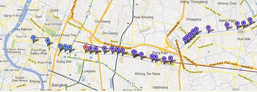 водное такси Бангкока