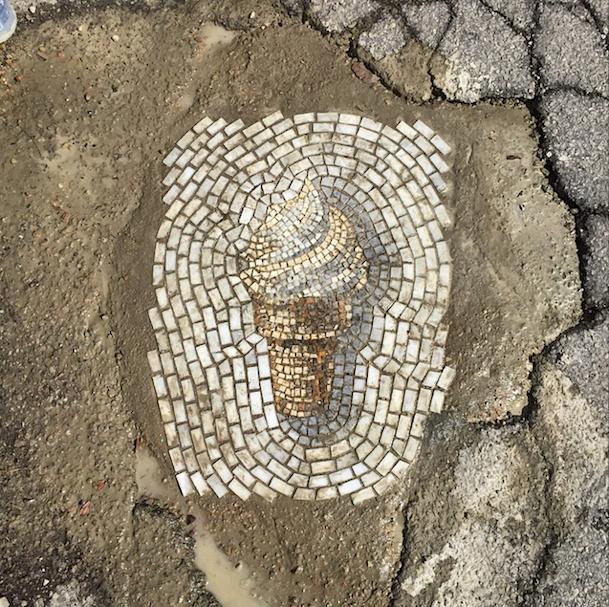 мозаика мороженое