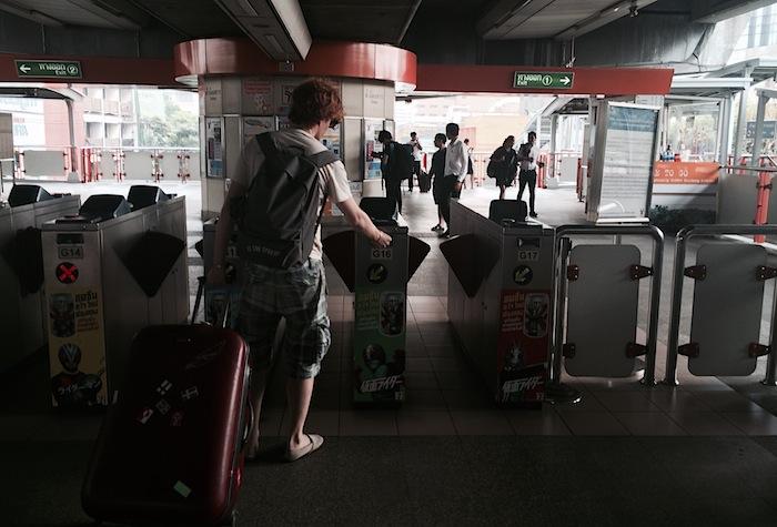 надземное метро Бангкока Sky Line