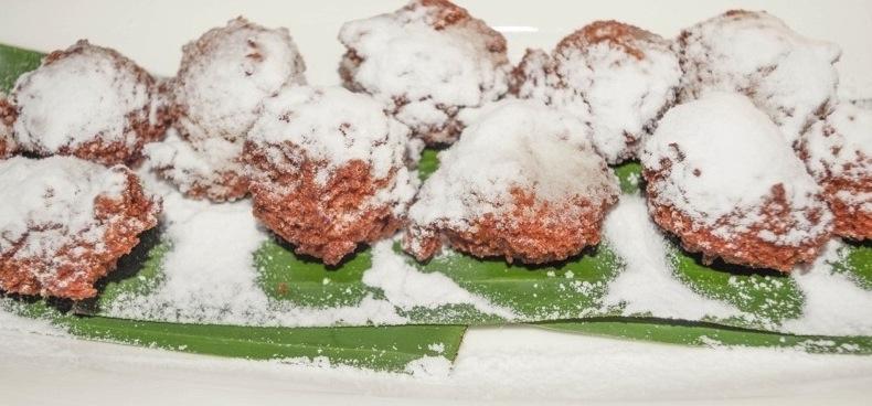 пончики из кокоса