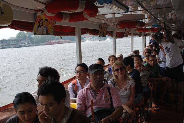 транспорт в Бангкоке, баржа