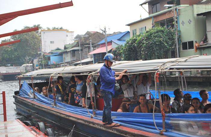 Saen Saep, кораблики на канале, джонка, Бангкок