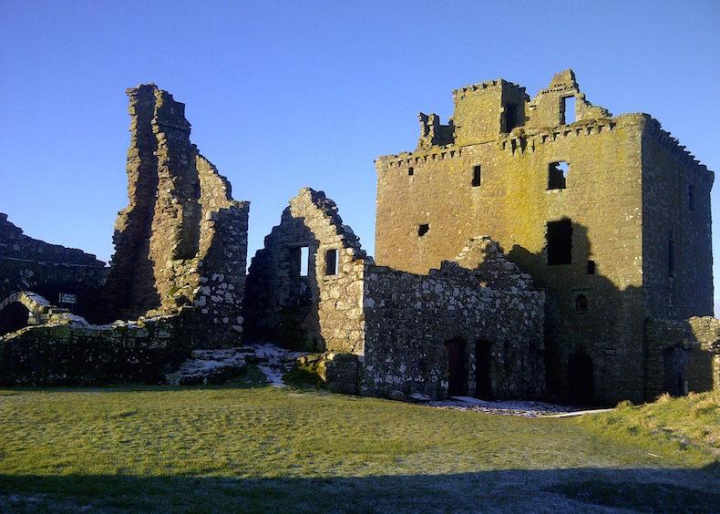 ЗАМОК ДАННОТТАР (CASTLE DUNNOTTAR), Шотландия, Scotland