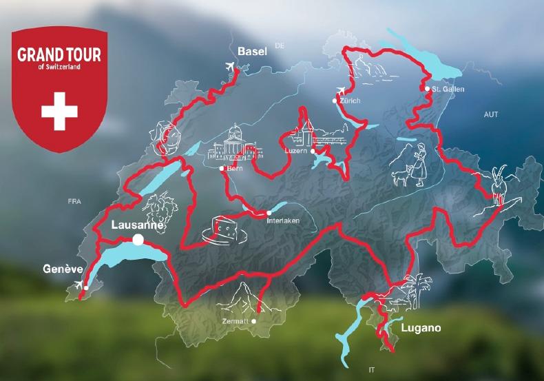 гранд-тур по Швейцарии