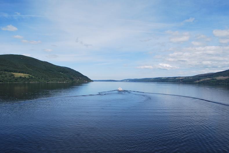 озеро Лох-Несс. Шотландия