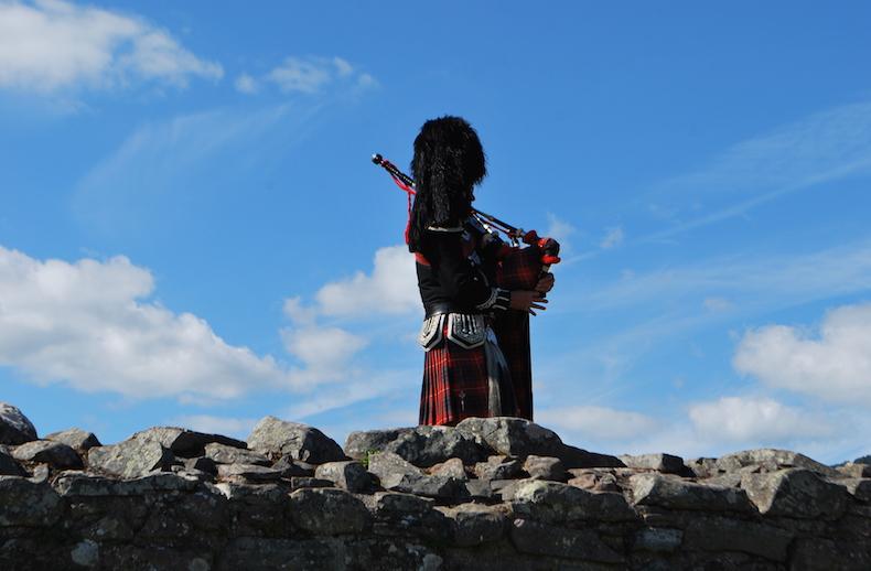 волынка Шотландия