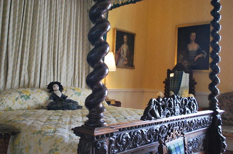 замок Инверари, Шотландия, спальня