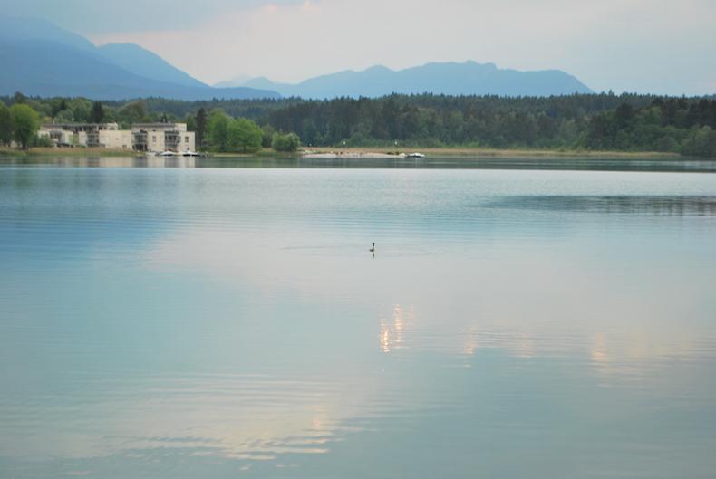 озеро Факер Зее, Каринтия, Австрия