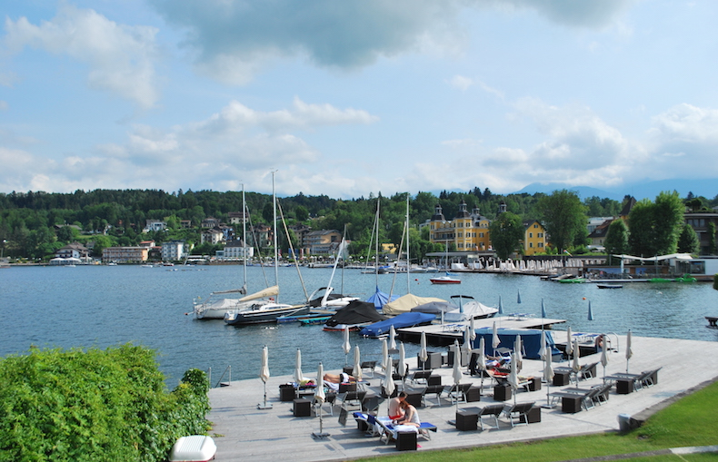 озеро Вёртерзее, Австрия, Каринтия
