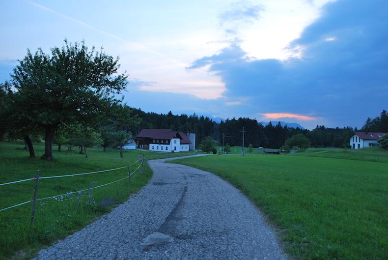 Факер Зее. Австрия, Каринтия